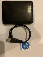 WD My Passport 500 GB Portable External Hard Drive HDD - Black