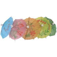 144 x cocktail parapluie parasols Hawaiian Party Pub Maison Bar Mixte