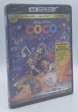 Coco (4K Ultra HD+Blu-ray+Digital, 2018; 2-Disc Set) NEW Disney/PIXAR