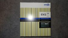 EMAGIC LOGIC 5 EXS24 MKII SOFTWARE INSTRUMENT XTREME SAMPLER 24 BIT MK2 WIN/MAC