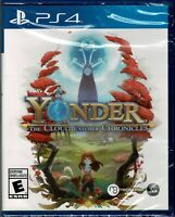 Yonder The Cloud Catcher Chronicles Ps4 Brand New