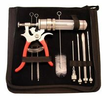 SpitJack Magnum BBQ & Marinade Meat Injector Kit - Injection Gun, Needles & Case