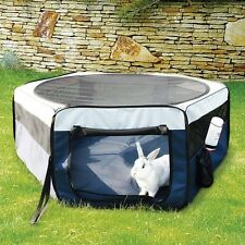 Trixie 64052 TRIXIE Pet Products - Soft Sided Mobile Play Pen - Small - Blue NEW
