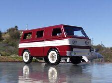 Chevolet Corvair Greenbier Van Custom Painted, (Structo School Bus) tin toy RED
