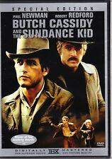 Butch Cassidy and the Sundance Kid Dvd Paul Newman, Robert Redford