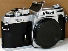 *** MINT  *** Nikon FM3A 35mm Chrome Camera Body Only
