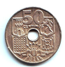 ESTADO ESPAÑOL: 50 Centimos 1949 *19* *52* S/C Franco - SPAIN - ESPAÑA