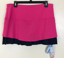 Lucky In Love Size Xl Tennis Skort Skirt Shorts Pink Navy Blue New With Tags