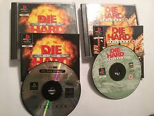2 COMPLETE SONY PS1 PLAYSTATION 1 GAMES DIE HARD TRILOGY 1 I + 2 VIVA LAS VEGAS