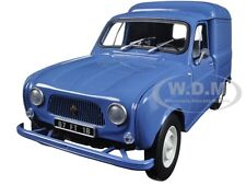 1965 RENAULT 4 FOURGONETTE BLUE 1/18 DIECAST CAR MODEL BY NOREV 185188