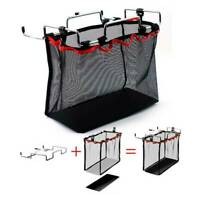 Light Storage Net Bag Outdoor Camping Picnic Kitchen Folding Table Hanging Pouch