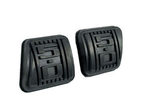 1979-1993 Mustang 5 Speed Manual 5.0 Embossed Rubber Clutch & Brake Pedal Pads