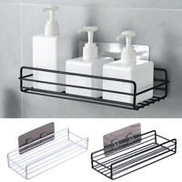 Caddy Bathroom Adhesive Storage Rack Shelf Organizer Basket Stainless Steel