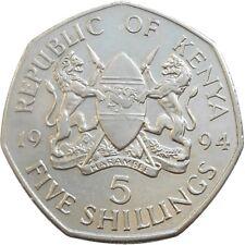 Kenya 5 Shillings 1994 KM#23a Daniel Toroitich Arap Moi (4508)