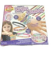 Zippy Bangles & Beadlets Gemstone Zipper Rhinestone Metal Bracelet Maker Kit