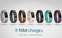 Fitbit Charge 2 Heart Rate Monitor Fitness Tracker Wristband Choose Size & Color