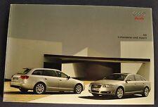 2005 Audi A6 68pg Prestige Brochure Avant Excellent Original 05 German Text
