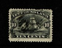 Newfoundland SC# 59 Used / Short Top Perf - S8278