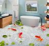 3D Red Goldfish Pond 77 Floor WallPaper Murals Wall Print Decal AJ WALLPAPER US
