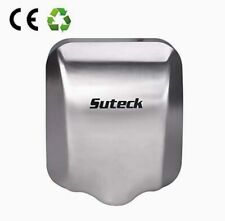 Suteck 1003 1800W High Speed Automatic Hand Dryer, Brushed Silver, 100M/S Speed