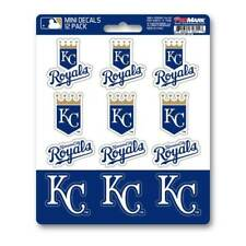 Kansas City Royals - Set Of 12 Sticker Sheet
