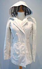 Ladies Roxy White Cotton Jacket Small size