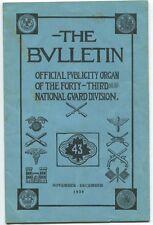 The Bulletin Vol. IX Nov. - Dec., 1939 No. 7-8 1940 1st Ed. SC Book
