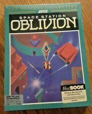 Space Station Oblivion 1988 Epyx IBM PC-5.25