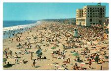 Hermosa Beach California Postcard Hermosa Beach Front Of Biltmore Hotel #75829
