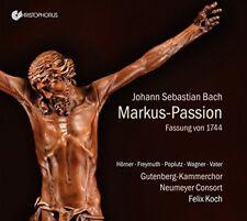 Neumeyer Consort - Johann Sebastian Bach: Markus-Passion [CD]