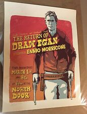 Dan Grissom Return of Draw Egan 18x24 inches AP Print Signed Nakatomi Inc. Rare