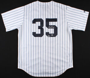 Michael Pineda Signed New York Yankees Jersey MLB Hologram & Fanatics hologram