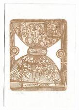 PAVEL HLAVATY: Exlibris für Heidrun Murau