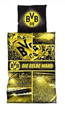 BVB Borussia Dortmund Bettwäsche / Biber Bettwäsche ** Gelbe Wand ** Südtribüne