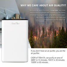Large Room Air Purifiers Hepa Home Smart Air Purifier Air Cleaner for Allergies