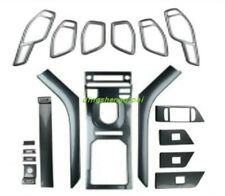 Carbon fiber style Car interior kit Cover Trim  For Range Rover Evoque 2015-2018