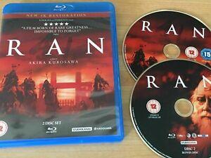 Ran [StudioCanal Blu-Ray] Region B, 4K Restoration, Akira Kursawa