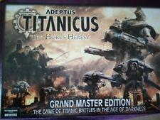 Adeptus Titanicus The Horus Heresy Grand Master Edition