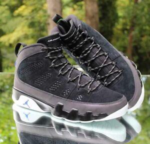 Nike Air Jordan 9 Retro Racer Blue Men's Size 16 Black White CT8019-024