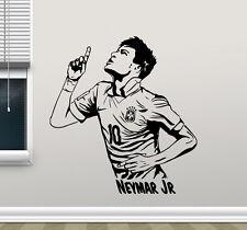 Neymar Wall Decal Barcelona Football Vinyl Sticker Soccer Art Decor Mural 17nnn