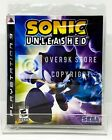 Sonic Unleashed - PS3 - Brand New   Factory Sealed