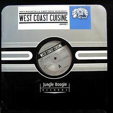 "Various - West Coast Cuisine 12"" VG+ JBR 101 House Vinyl 2003 Record"