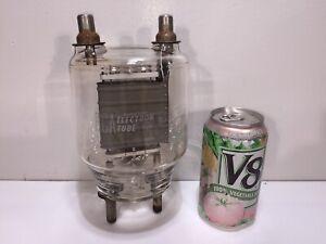 Vintage 1960's RCA 833A HAM Radio Amplifier Transmitting Triode Power Tube