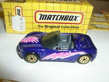 Matchbox Stingray Iii Corvette Purple Gold Wheels W/Hobby Box 38K1A