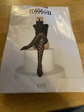 Wolford KATE hold up nude/black MEDIUM Classy sexy