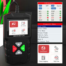 YA201 OBD2 Code Reader Auto Car Diagnostic Tool OBDII Scanner Analyzer PK ELM327