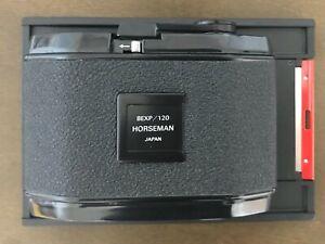 [MINT] Horseman 8exp 6x9 120 Film Back Holder 4x5 Camera From JAPAN #551