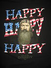 #7029 DUCK DYNASTY SS T SHIRT MEN'S LARGE GOOD USED