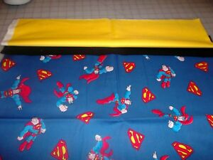 Handmade Embroidered Personalized STANDARD Pillowcase Superman
