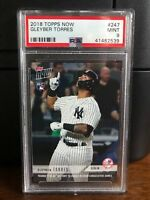 2018 Topps Now Gleyber Torres Yankees Rookie Card #247 PSA 9 Mint